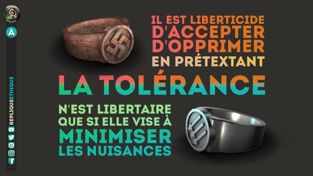 Libéralisme & tolérance