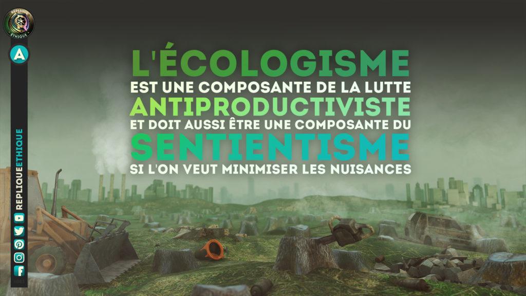 Écologie & sentience