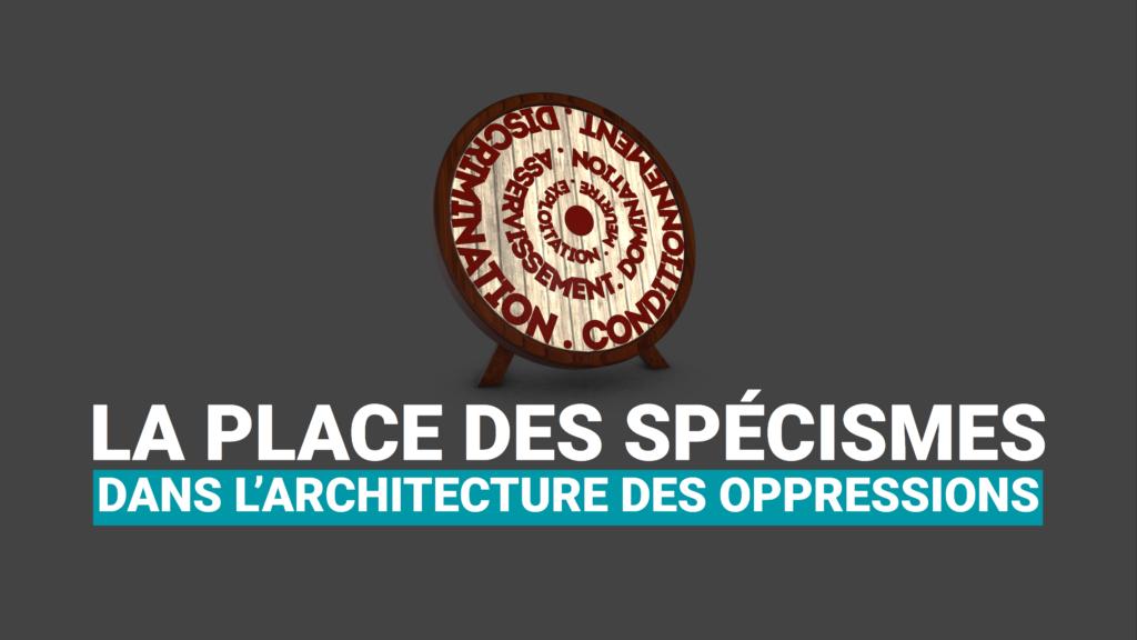 Les spécisme dans l'architecture des oppressions